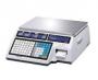 Весы торговые с печатью этикеток CAS CL5000J-6IB TCP-IP