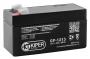 Аккумуляторная батарея 12V/1.3Ah Kiper GP-1213 (F1)