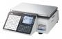 Весы торговые с печатью этикеток CAS CL3000J-30B TCP-IP